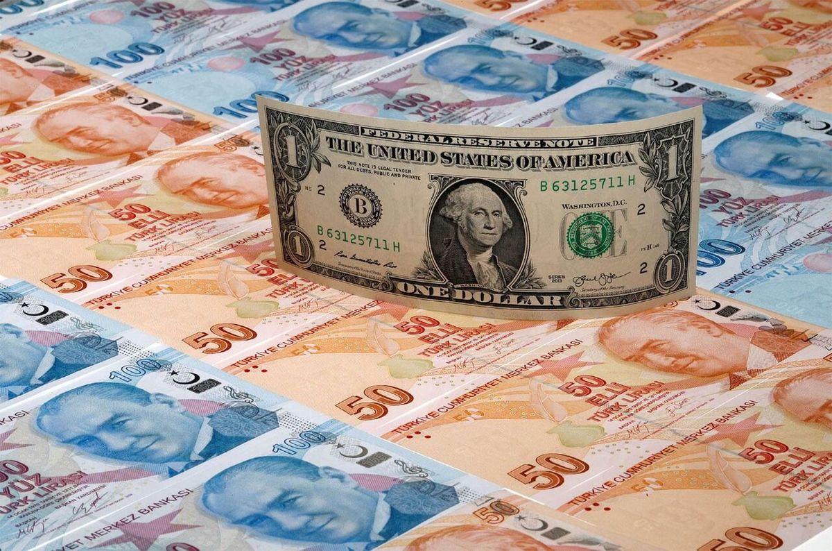 ذخائر ارزی ترکیه به کمترین میزان در ۱۸ سال اخیر رسید