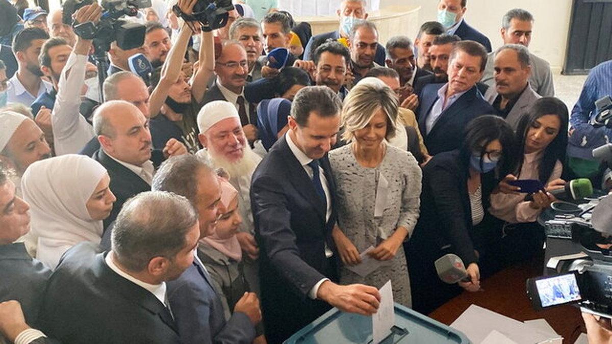 نخست وزیر ارمنستان پیروزی اسد در انتخابات را تبریک گفت