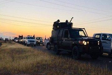 درشمال غرب تکریت نیرو های امنیتی عراق برعلیه داعش عملیات گسترده ای انجام دادند