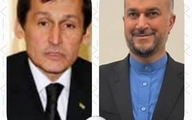 رایزنی تلفنی وزیران امور خارجه ایران و ترکمنستان