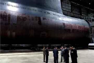 به زودی  زیردریایی اتمی جدید کره شمالی   عملیاتی می شود