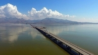 وسعت دریاچه ارومیه کاهش یافت