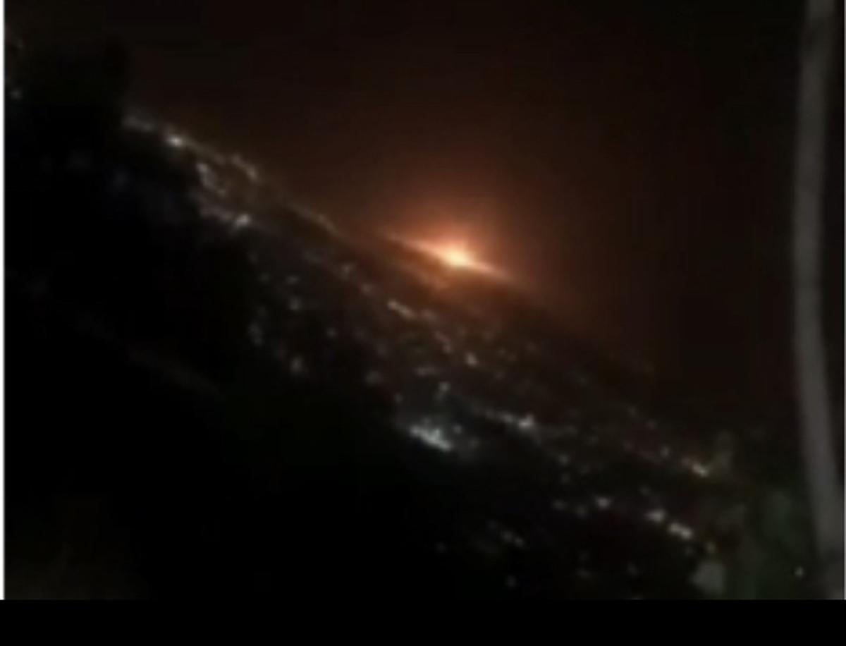 ویدیو | رویت شیئ نورانی در شرق تهران