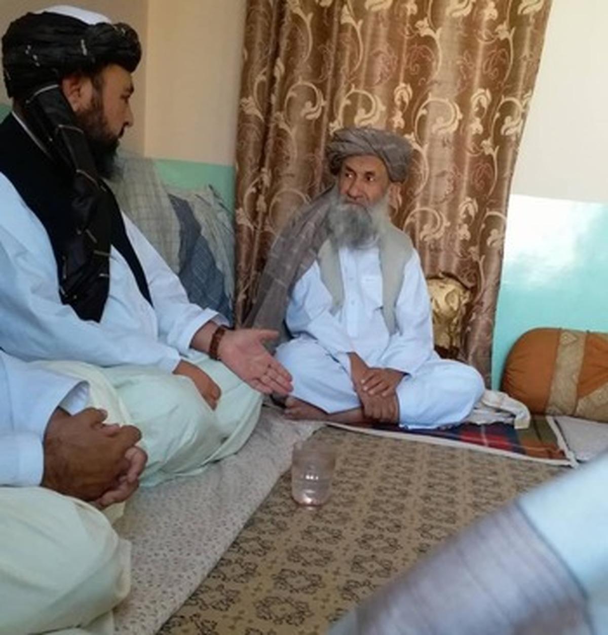 ملا حسن آخوند، نخست وزیر طالبان (عکس)
