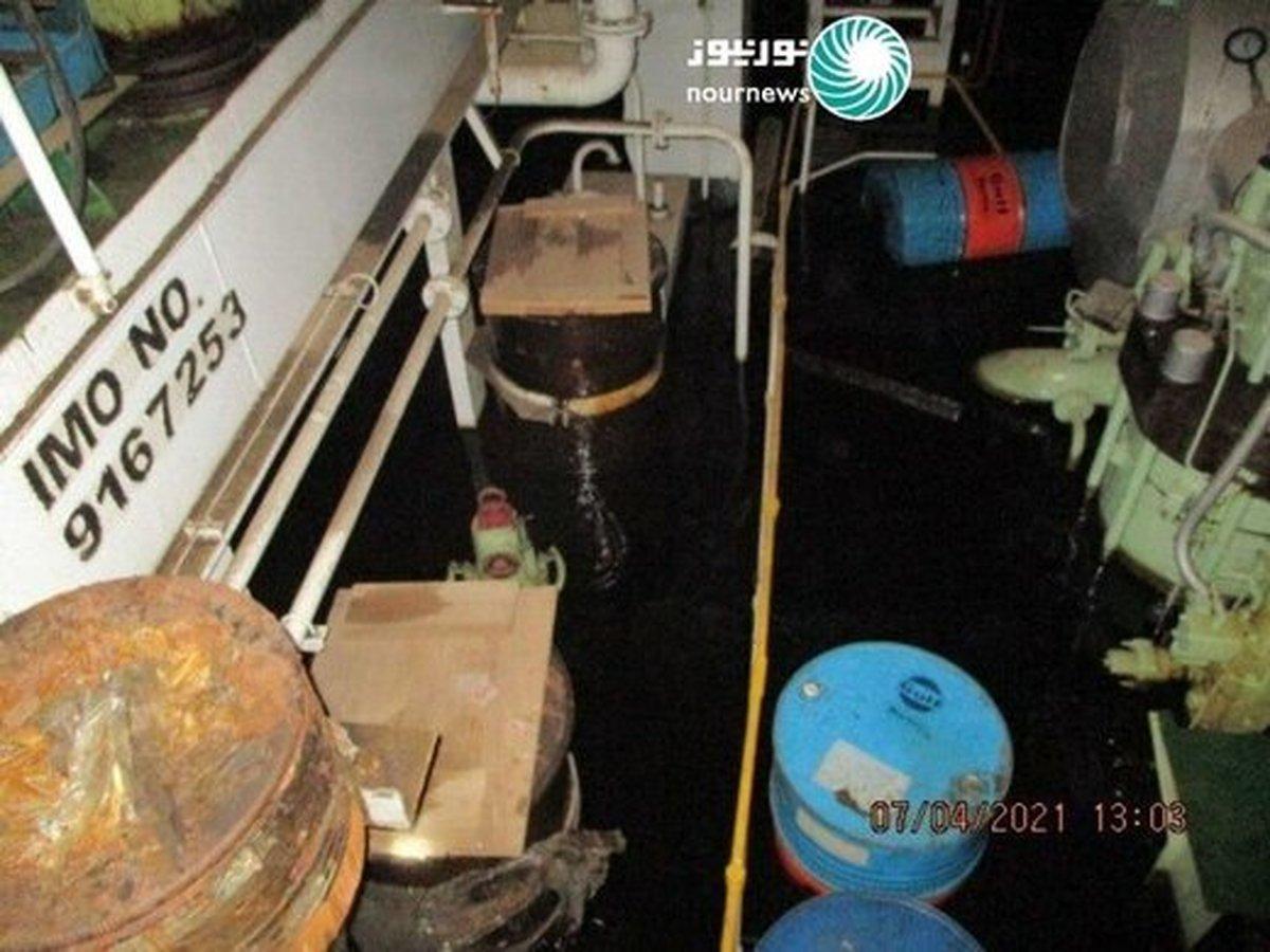 جزئیات جدید از حمله به کشتی ایرانی در دریای سرخ +عکس