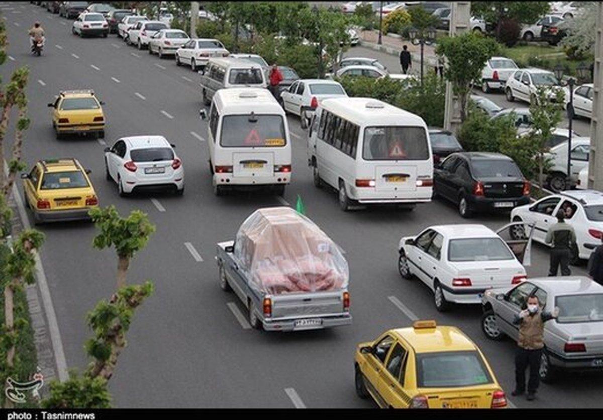 طرح ترافیک | گلایهبرخی شهروندان از اجرای طرح ترافیک وجریمه رانندگان در ایام کرونایی