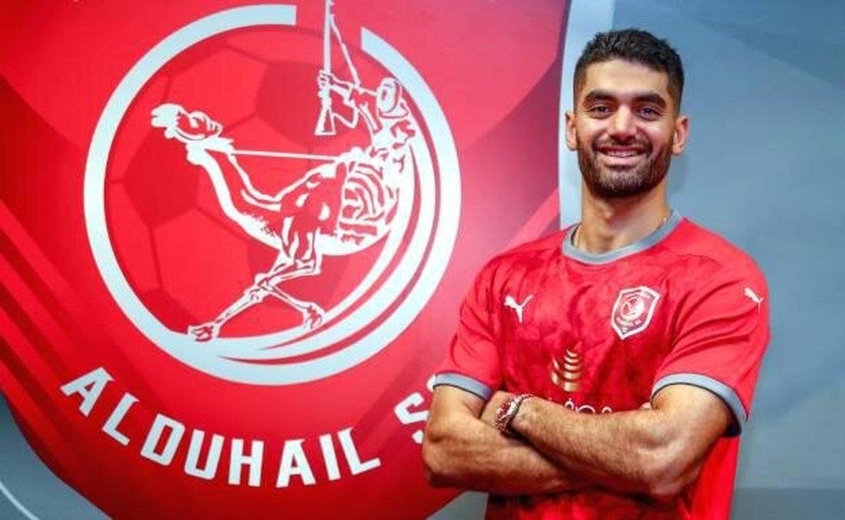 فوتبال  |  علی کریمی رسما به قطر پیوست.