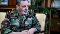 فرمانده ارتش  |   خیلیها شاید به صلاح نمیدانستند که ارتش به صورت علنی برای دفاع از حرم نیرو بفرستد حاصل بذری که حاج قاسم در منطقه پاشید نابودی نظام سلطه و رژیم صهیونیستی است
