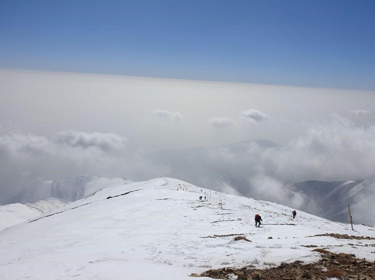 کوهنوردان گرفتار در ارتفاعات توچال نجات پیداکردند