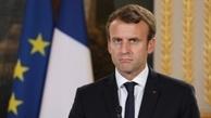 رئیس جمهور فرانسه علیه ایران سخن گفت