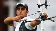 میلاد وزیری بین ۶۴ کماندار المپیکی در جایگاه ۶۳ مرحله مقدماتی قرار گرفت