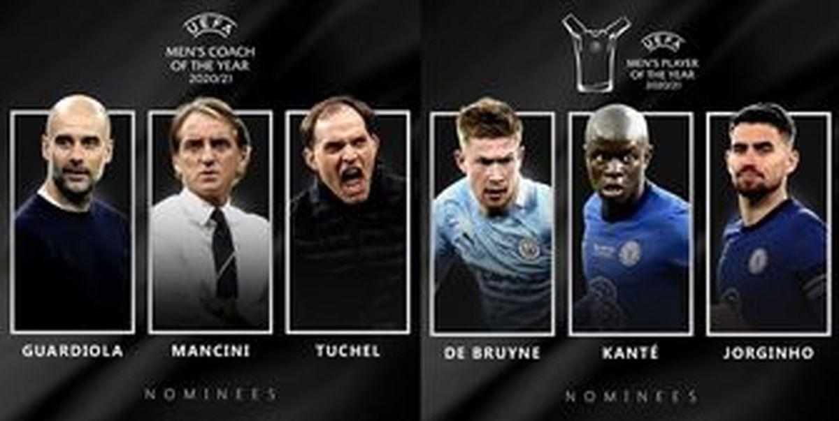 چه کسی لایق کسب جایزه بهترین بازیکن و سرمربی سال اروپا است؟