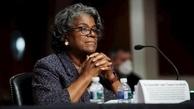 بایدن    دومین زن سیاهپوستی برای نمایندگی آمریکا در سازمان ملل متعهد رأی اعتماد گرفت