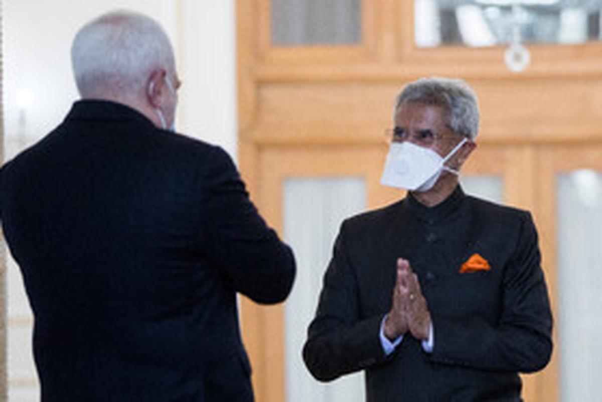 دیدار وزرای امور خارجه هند و ایران