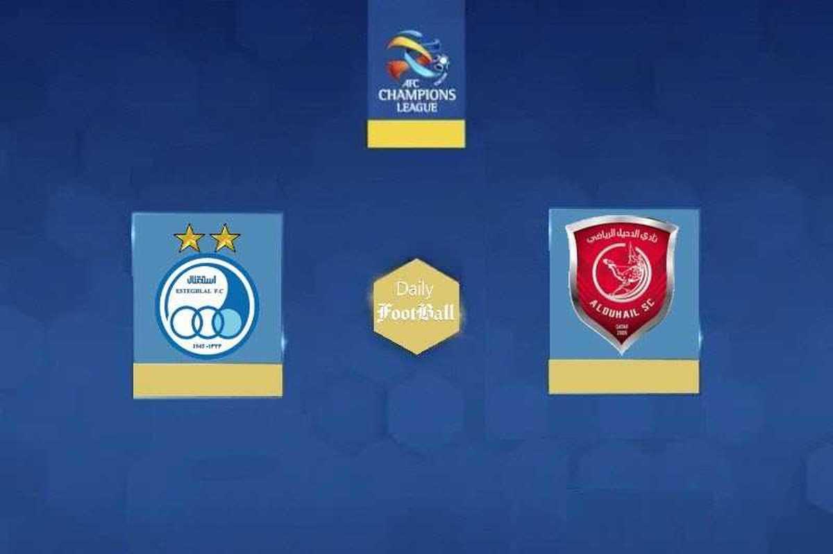 نتیجه بازی استقلال مقابل الدحیل : استقلال2-الدحیل2