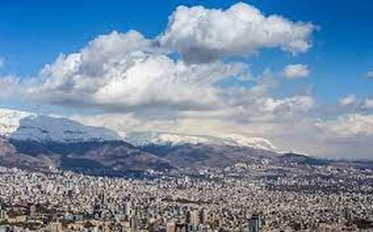 تنفس هوای «مطلوب» در پایتخت با وزش باد