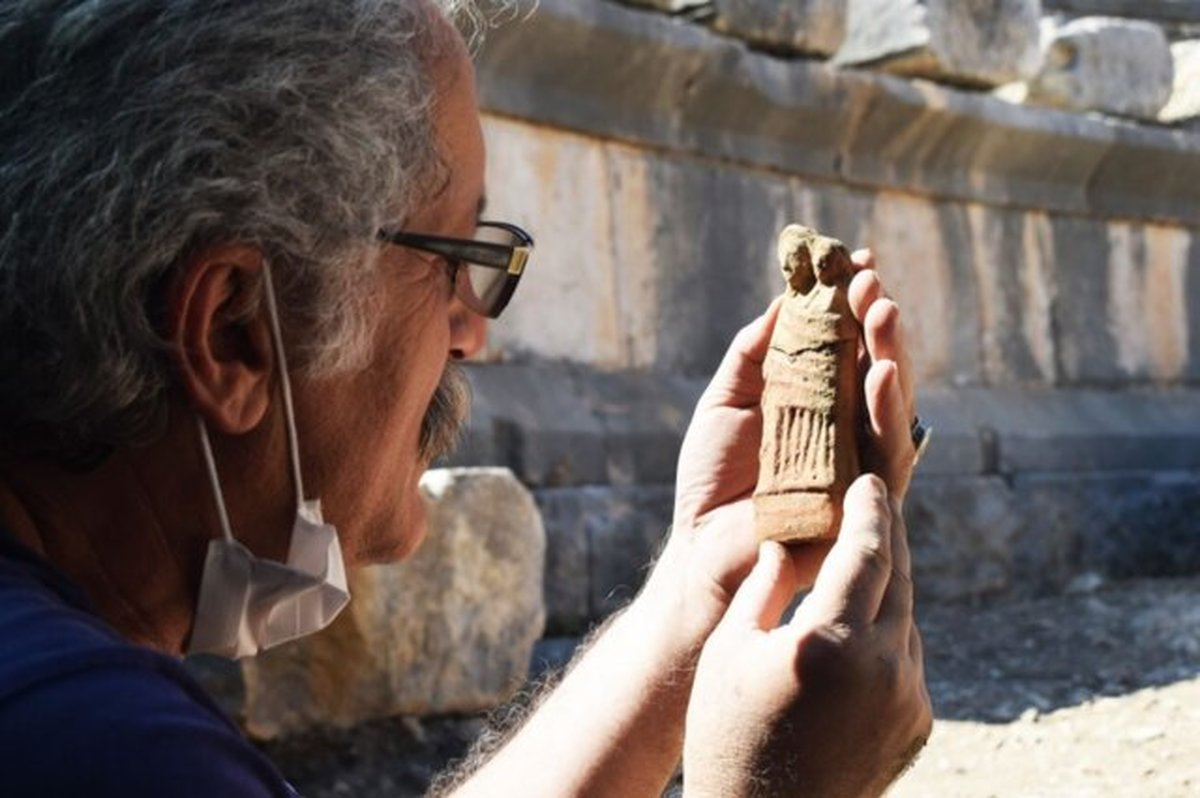 در ترکیه مجموعهای از مجسمههای تاریخی کشف شد.