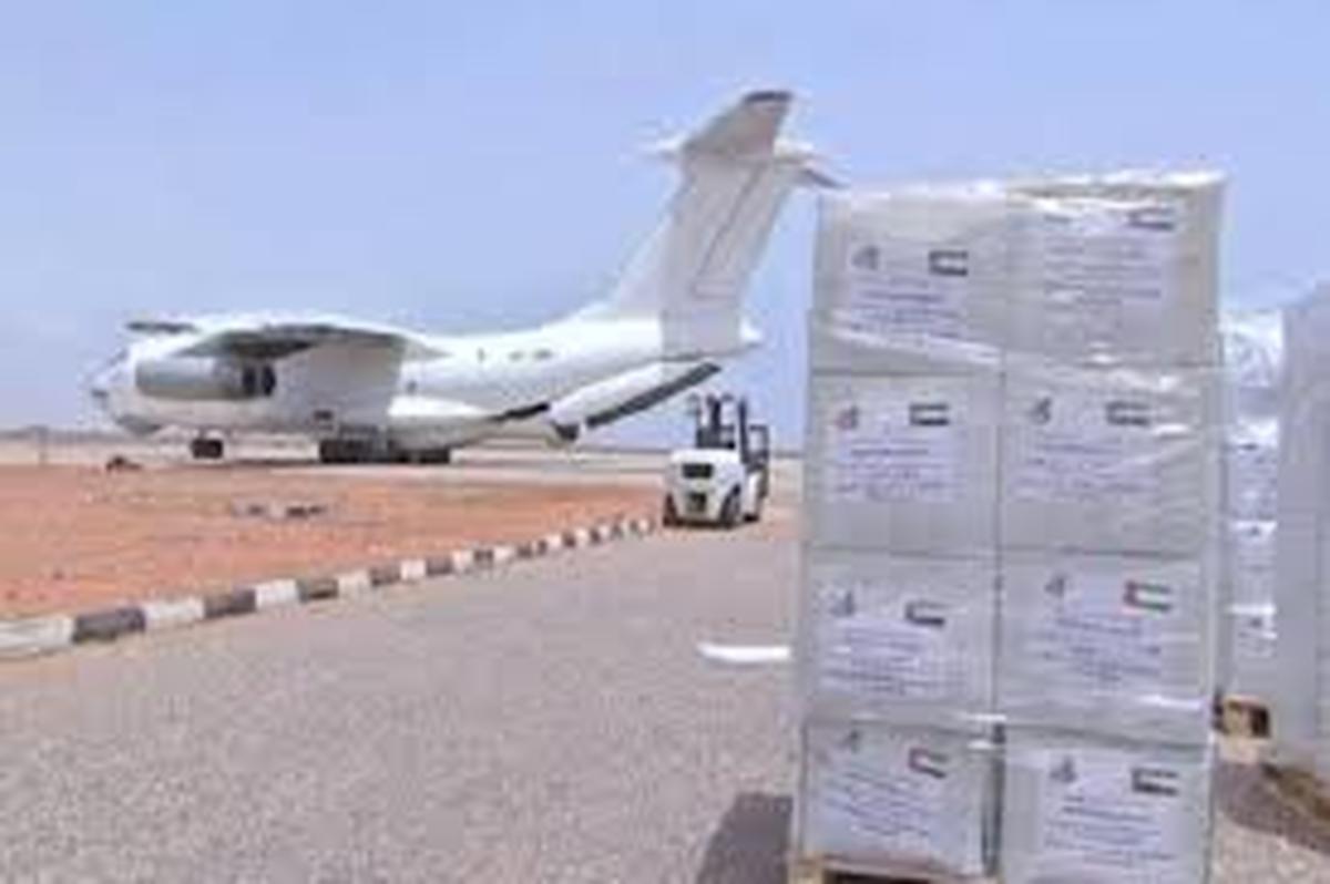 ویروس کرونا | امارات تجهیزات پزشکی به ایران ارسال کرد.