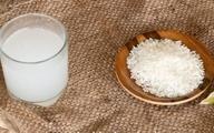 فواید عالی آب برنج برای پوست و مو
