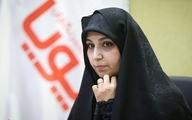 تصاویر جالب از نشست خبری دختر شهید سلیمانی| دختر شهید سلیمانی کاندیدای شورای شهر تهران