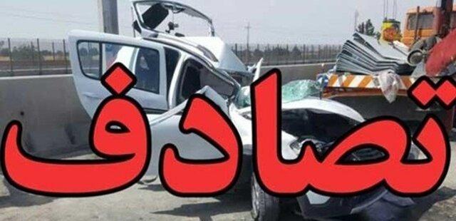 حادثه     2 فوتی و 12 مصدوم در تصادف یک اتوبوس