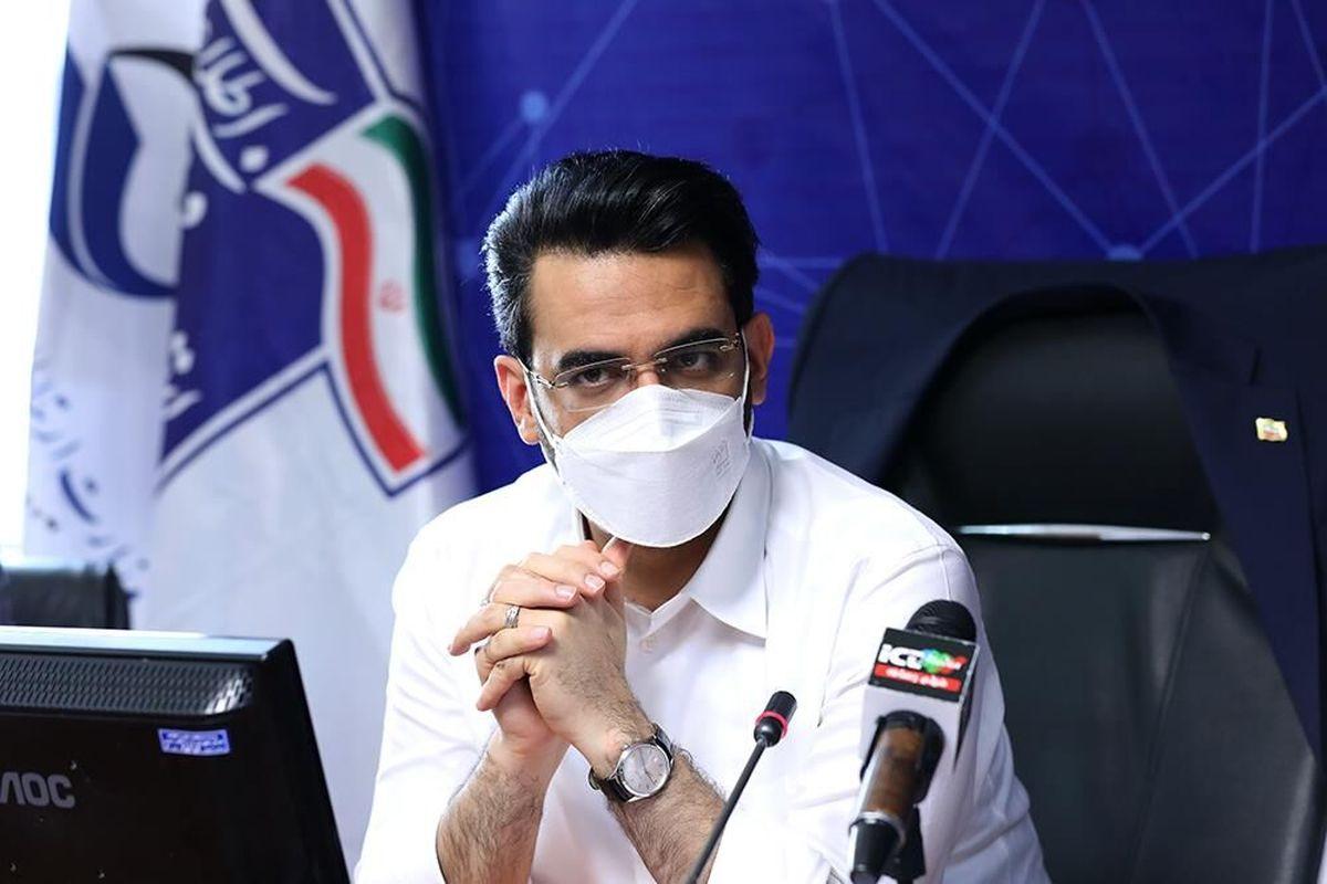 وزیر ارتباطات: ابلاغیه مراجع فرهنگی، بستههای اینترنت شبانه را حذف کرد