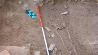 کشف دومین اسکلت بانوی اشکانی در تپه اشرف اصفهان