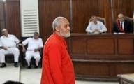 رهبر اخوانالمسلمین مصر به حبس ابد محکوم شد