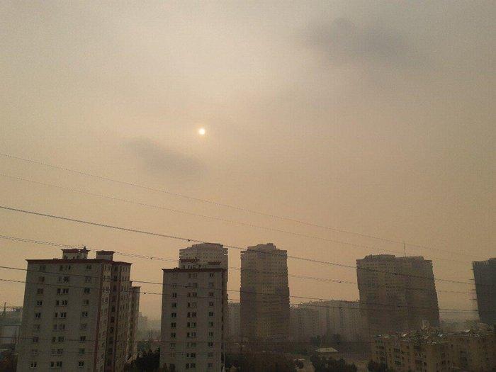 آلودگی هوا در سوهانک تهران