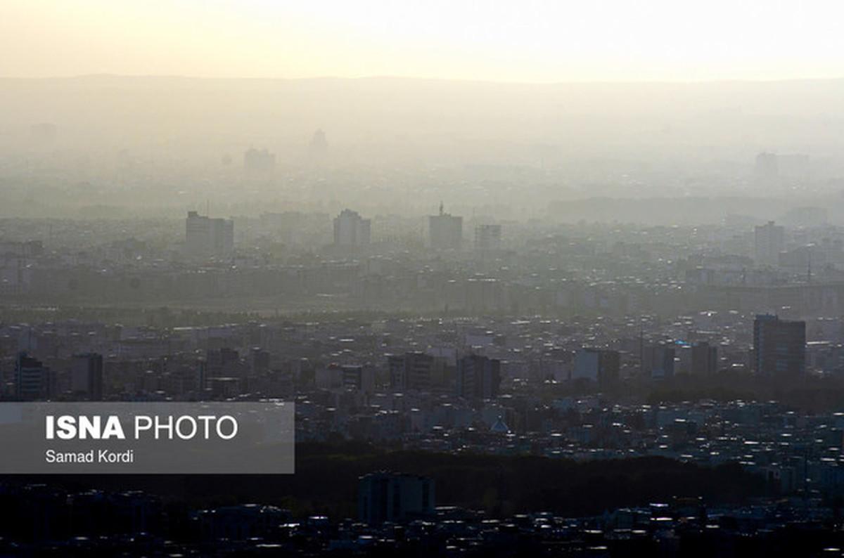 پیشبینی هوای ناسالم برای ۵ شهر صنعتی طی سه روز آینده