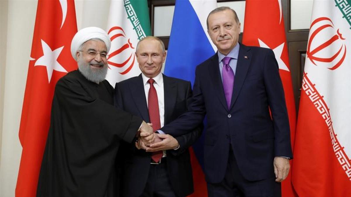 ویدئو : استناد پوتین به آیه قرآن در حضور روحانی و اردوغان
