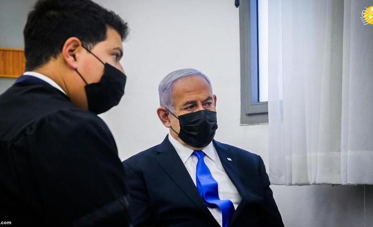 ناراحتی نتانیاهو از محاکمه در دادگاه| جلسه محاکمه نتانیاهو در دادگاه+تصاویر