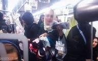 نگاهی به وضعیت زندگی دستفرشان در مترو