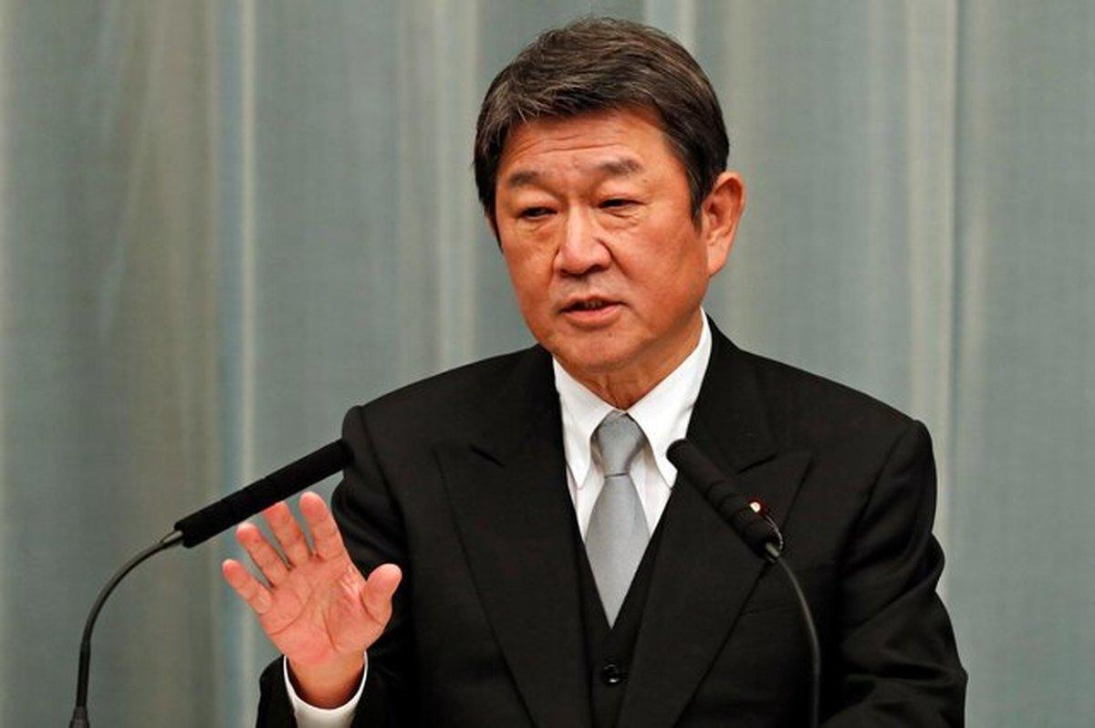 وزیر خارجه ژاپن      مذاکره با کره شمالی ادامه دارد