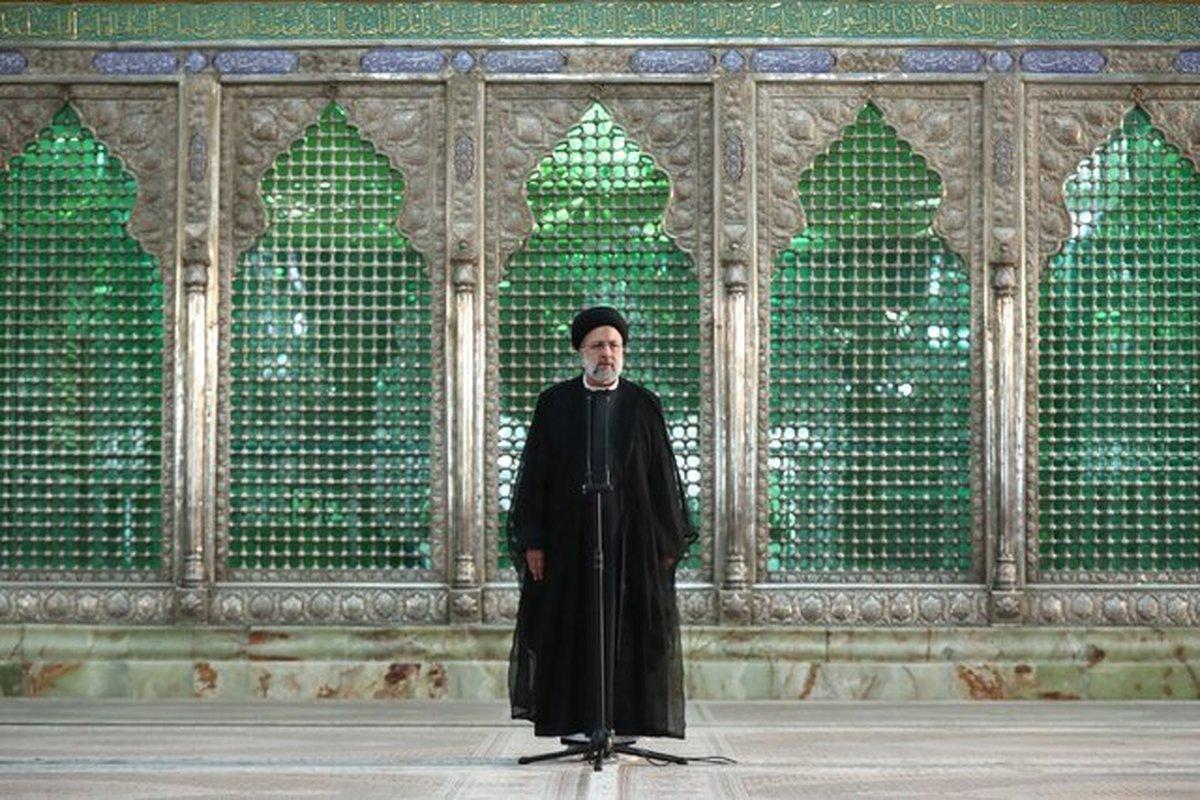 تجدیدمیثاق دولت جدید با آرمان های رهبر در حرم مطهر امام راحل + عکس