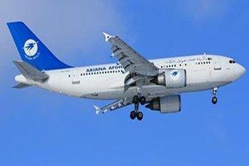 سقوط یک هواپیمای مسافری در افغانستان