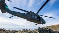 رزمایش هوایی | تمرین مشترک یونان و آمریکا با پرواز انواع بالگردهای رزمی