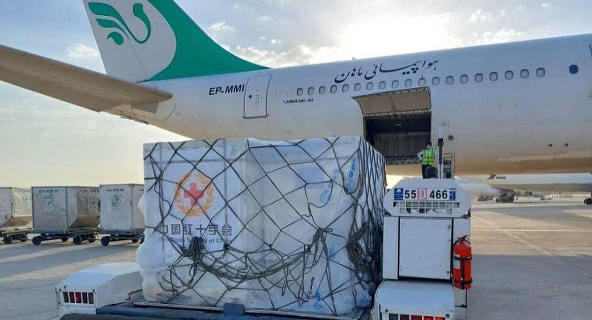 6 میلیون دُز واکسن کرونا از نوع سینوفارم وارد ایران شد