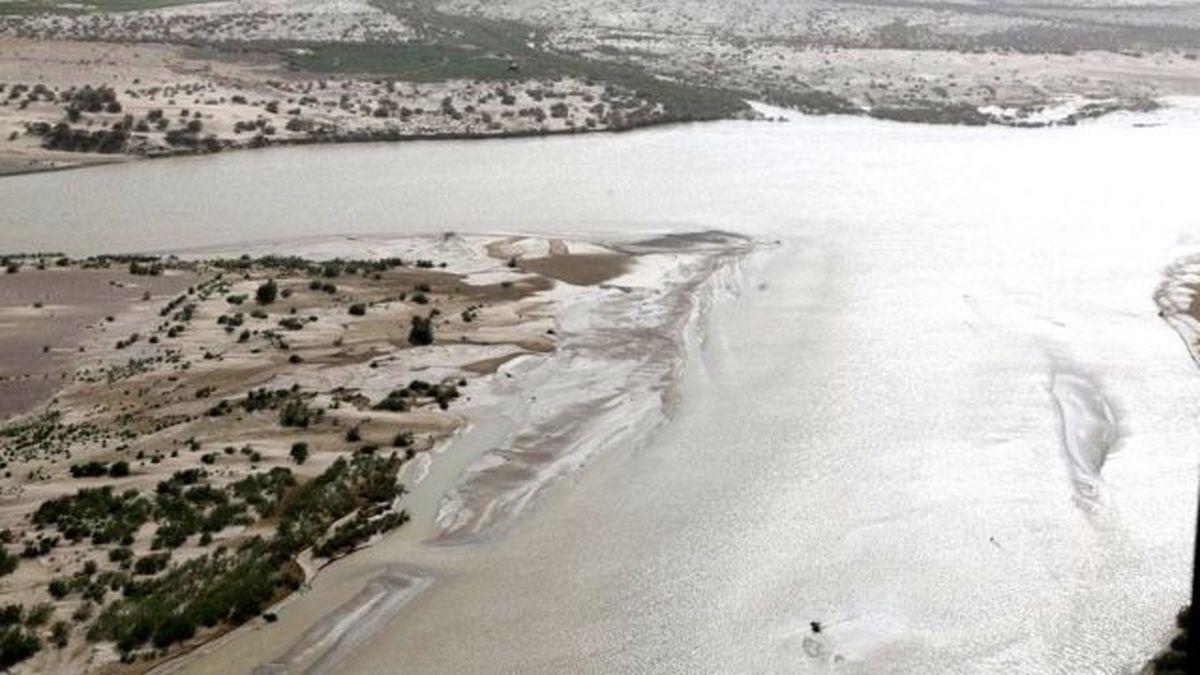 دریاچه هامون ایران خشک میشود