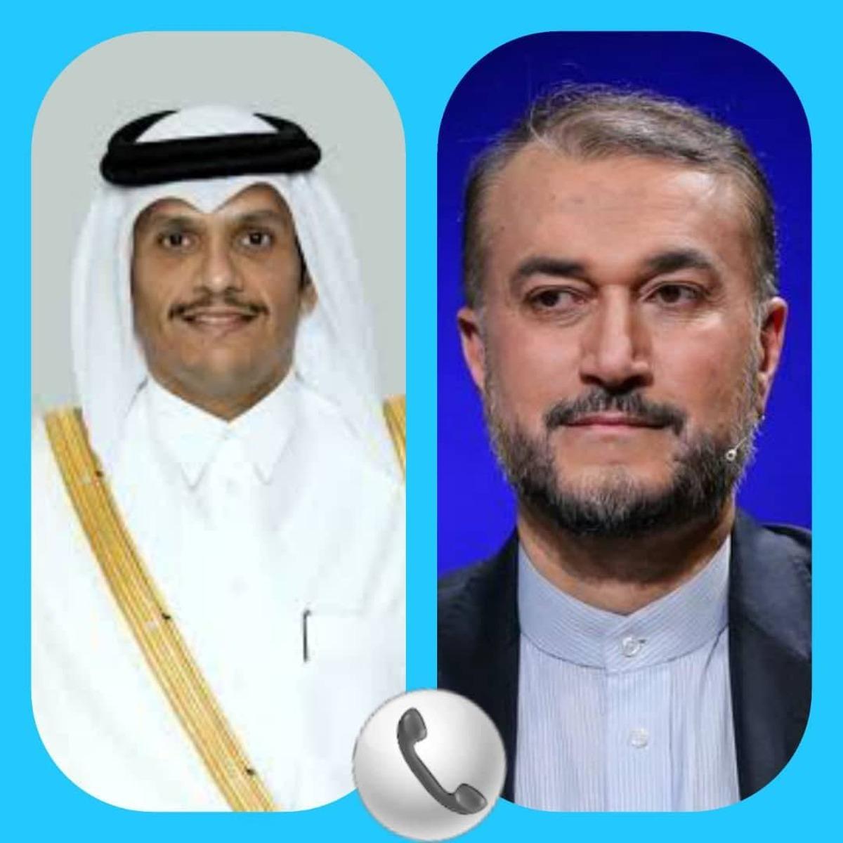 تماس تلفنی دکتر امیرعبداللهیان با همتای عراقی خود    رایزنیها در خصوص موضوعات مختلف