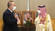 تحریم | وزیر خارجه ترکیه با همتای سعودی خود دیدار کرد.