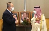 تحریم   وزیر خارجه ترکیه با همتای سعودی خود دیدار کرد.