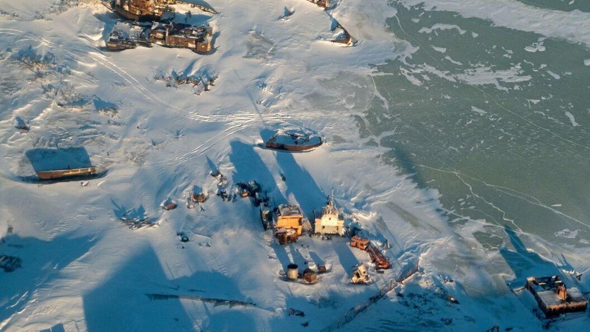 ذوب شدن یخ های قطب شمال سالانه دو میلیارد دلار به روسیه خسارت می زند