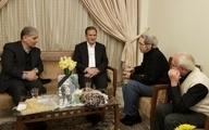 دیدار جهانگیری با خانواده یکی از جانباختگان سقوط هواپیمای اوکراینی