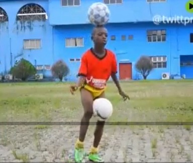 ویدیو: ایچی چینونسو، پسربچه 11 ساله نیجریایی؛ خدای روپایی است