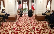 روحانی در دیدار اشرف غنی: آمریکا برای حفظ ثبات و امنیت منطقه را ترک کند