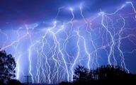 رگبار و رعد و برق در ۹ استان کشور