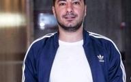 تیپ نوید محمدزاده و همسر بازیگرش در خیابان