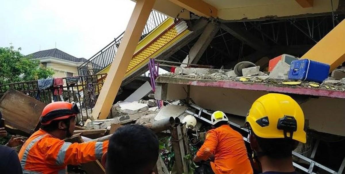 زلزله اندونزی ۲۶ کشته و صدها زخمی برجا گذاشت؛ نگرانی درباره «سونامی»