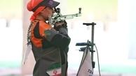 المپیک توکیو؛ گریه نجمه خدمتی بعد از ناکامی در تفنگ سه وضعیت